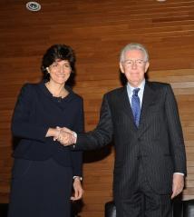 Presentazione libri di Mario Monti – Sylvie Goulard – Mario Monti